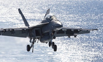 Former Navy Pilot Describes Bizarre Encounter With Aircraft With 'No Plumes, Wings, Or Rotors' That Outran His Fighter Jet