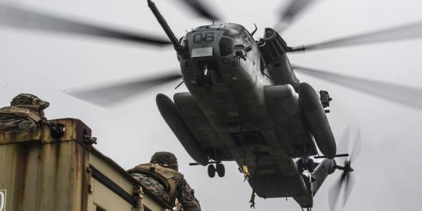 Marine Corps Blames Human Error For Helicopter Window That Fell Near Crowded Elementary School