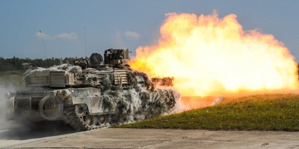 The Army Is About To Receive Its First Souped-Up New M1A2 Abrams Battle Tank