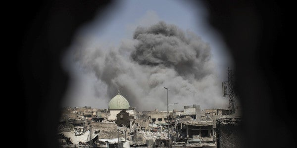 Fort Hood General Leading ISIS Fight Says Caliphate Defeated In Iraq