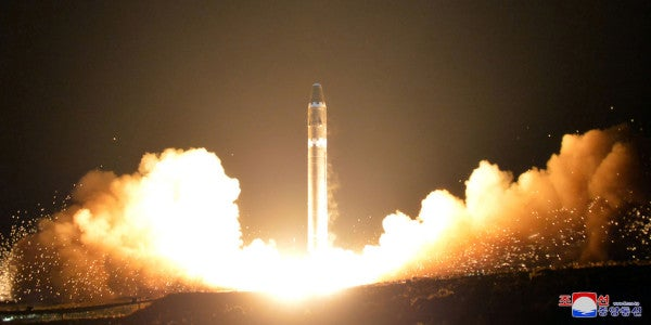 North Korea Begins Tests To Load Anthrax Onto ICBMs, Japanese Newspaper Reports