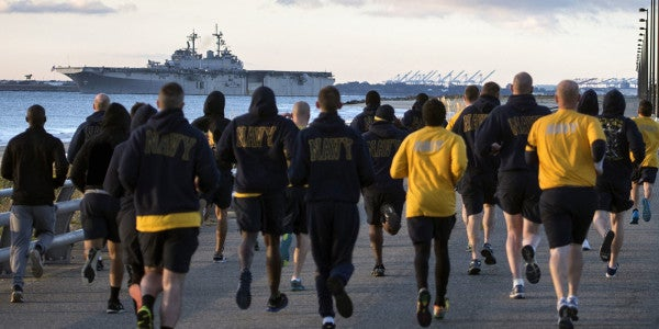 The Navy Just Gave 48,000 Sailors Who Failed Their PRT A Sweet Deal