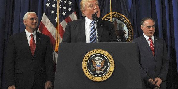 Trump Signs Bill Opening VA To More Investigations