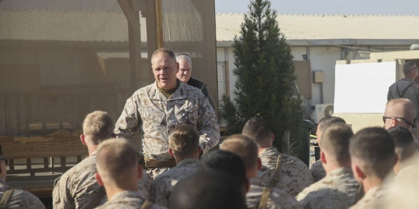 Marines' Top Officer Was Once Scolded By A Sergeant For Being A Grinch
