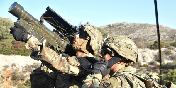 The Army Is Learning To Love The Stinger Missile — Again