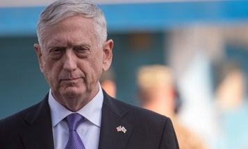 James Mattis reportedly slept in his clothes to be ready for North Korea's missile launches