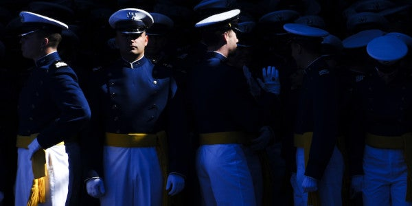 That Air Force Academy Hazing Ritual Was Like Something Out Of A Bad Fraternity Movie