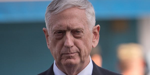 Mattis Reportedly Has The Dumbest New Nickname I've Ever Heard