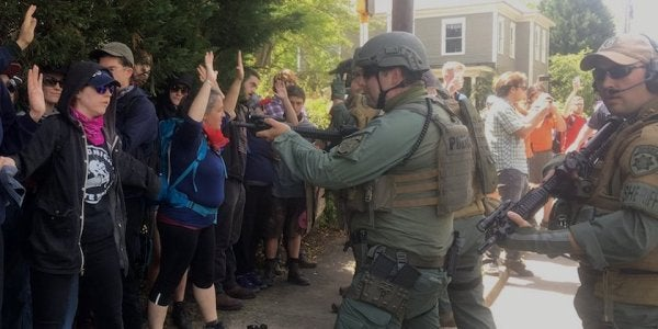 Cops And Veterans: The Real Problem May Be The 'Pseudo-Militarization' Of American Police