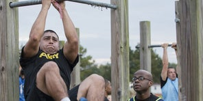From overweight veteran to pandemic athlete