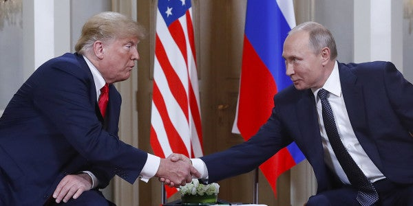 Trump Meets With Putin Alone For 2 Hours, Blames US For Poor Russia Relations