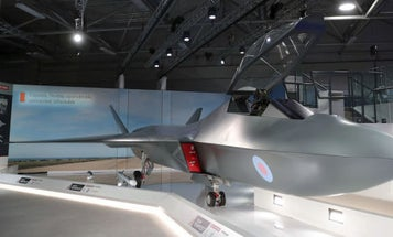 Up Close And Personal With The UK's Sleek New Fighter Jet