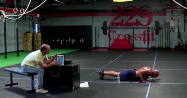 Watch This Police Officer Set The World Record For Doing Terrible Pushups In An Hour