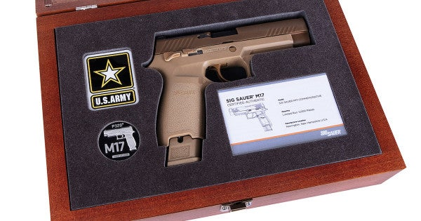 Remember The Army's Hellish Search For A New Sidearm With A Commemorative M17