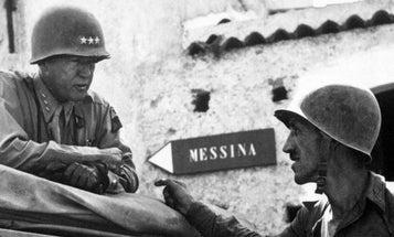 Gen George S. Patton: Tough. Pugnacious. Poet?