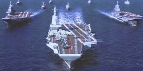 A Leaked Photo Reveals A Glimpse At China's Next Supercarrier