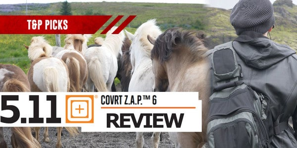 We Took the 5.11 Covrt Zone Assault Pack To Iceland For A Gear Review