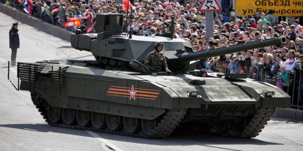Russia Can't Afford Its Fancy New T-14 Armata Main Battle Tanks