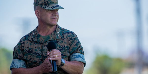The Head Of The Marine Corps' Premier Fighting Force Is Taking His Talents West