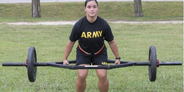 Here's What You Need To Do To Pass The Army's Combat Fitness Test
