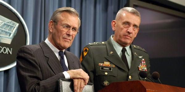 How A Defense Secretary Works: Inside The Turbulent Mind Of Donald Rumsfeld