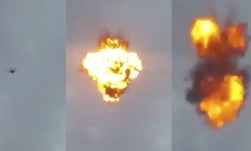 Video Of Exploding 'Attack' Drone Emerges As Venezuela Cracks Down