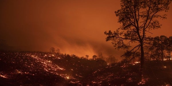 DoD To Send 200 Soldiers To Fight Wildfires As Western States Burn