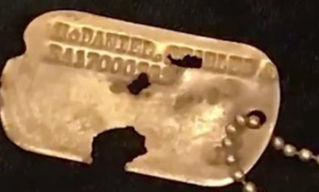 Pentagon Returns Lone Dog Tag From The Korean War Remains Returned By North Korea
