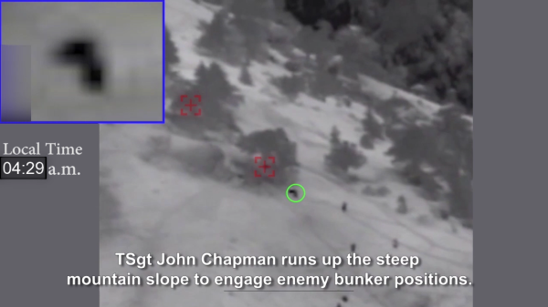 Air Force Releases Video Of John Chapman's Final Heroic Moments That Earned Him The Medal Of Honor