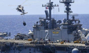 'Round-The-Clock Search And Rescue Operations' Underway For Overboard Marine