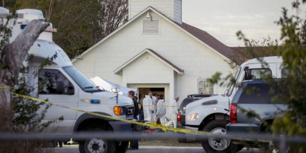 Air Force Could Face Record Lawsuits Over Texas Church Shooting