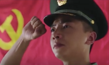 China's Chilling New Propaganda Video Promises 'Peace Behind Me, War In Front Of Me'