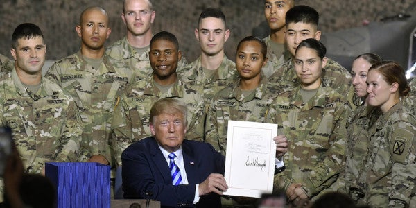 Trump To Soldiers: It's A New Day For The US Military