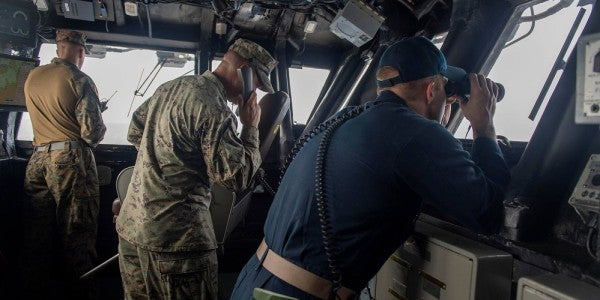 Overboard Marine Still Missing As Corps Ends Search And Rescue Efforts