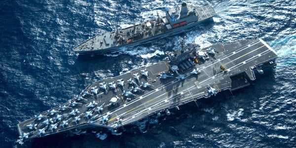 Mattis Is Pushing The Navy To A Brand New Fleet Strategy