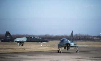 Air Force Training Jet Crashes In Oklahoma