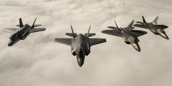 That F-22 Vs. F-35 'Dogfight' In Norway Was Not What Everyone Thinks