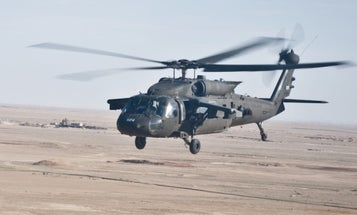 US Service Member Killed In Special Operations Helicopter Crash In Iraq