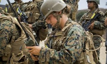Female Marines Train For Battle Alongside Men For First Time In Camp Pendleton History