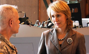 A Navy SEAL Shares Why He Gave Gabrielle Giffords His Purple Heart