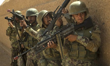 Afghan Soldiers Recently Abandoned Bases In The Country's North Without A Fight