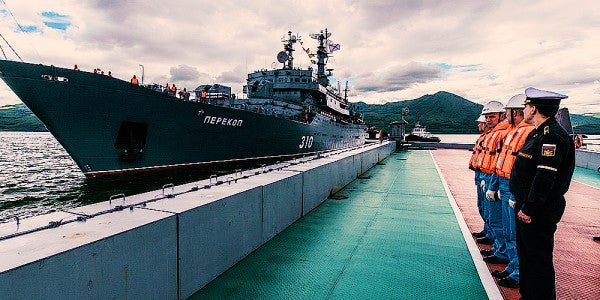 Report: Russia Lost A Nuclear-Powered Cruise Missile At Sea