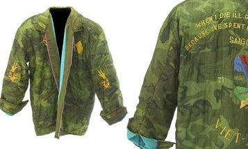Behold! A Vintage Woobie Jacket From The Vietnam War