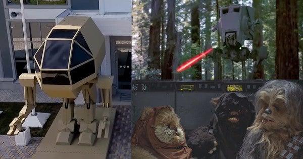 Kalashnikov Unveils A 'Killer Robot' That Could Easily Be Destroyed By Ewoks