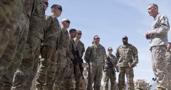 Here's How Top Military Leaders Have Described US 'Progress' In Afghanistan Over The Last Decade