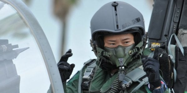 Meet Japan's First Female Fighter Pilot, Who Says She Was Inspired By 'Top Gun'