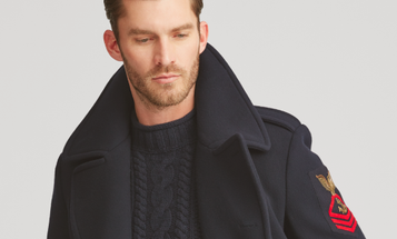 This Ralph Lauren Peacoat With Chief Petty Officer Insignia Costs More Than A Chief's Pay