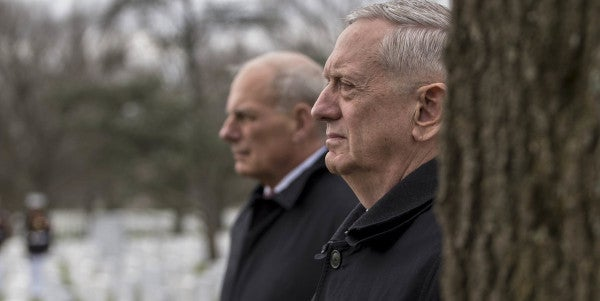 Mattis And Kelly Made A Secret Pact To Babysit Trump