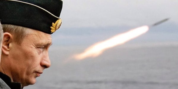 Russia Just Sent An Imposing Naval Armada To Syria Purportedly In Response To The US