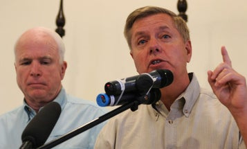 Lindsey Graham Says He'll Honor John McCain's Legacy By Pushing To Stay In Afghanistan Forever